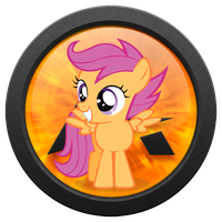 AIMP3 Player Scootaloo Icon [MLP Icon] by luckydonald