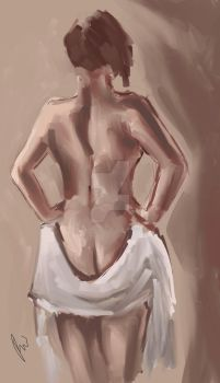 Figure Study by bekahwithers