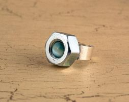 Hardware nut ring by skuggsida