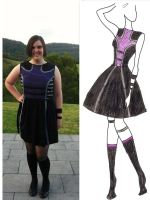 Hawkeye Dress by Misguided-Ghost1612