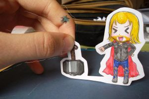 Thor Paperchild by Manga-Lauren