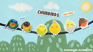 Chubbirds Stickers by ditto9