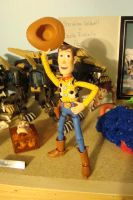 Woody Waving his Hat by spidyphan2
