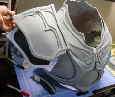 Imperius Chest/Shoulder progress by FabricatorDjinn