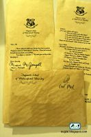 DIY Hogwarts Acceptance Letter and Envelope by SugiAi