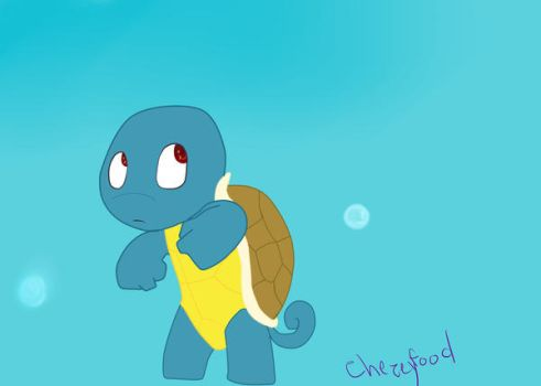 squirtle by chezeyfood