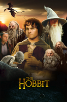 The Hobbit Poster by Zyklo12