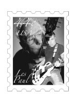 Les Paul and Frank Iero stamp by shadowlovinfanbunny