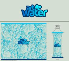 for art water label contest by mustafahaydar