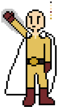 One Punch Man Sprite by ComicalCooper