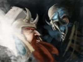 Zues and Lich Unfinished by paborito