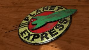 Planet Express Sign by Pharaoh-Hamenthotep