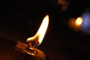 fire 01 - candle. by oro-elui-stock