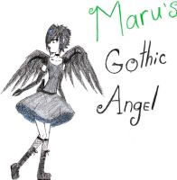 Gothic Angel 2 by GothicWolf69