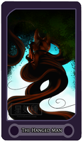 The Hanged Man - Tarot Card by Astralseed
