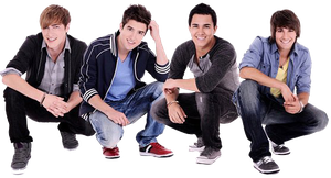 Big Time Rush Png by LuzcaEditions