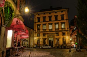 Old Town by Night V by HenrikSundholm