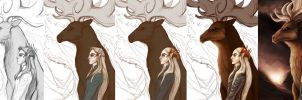 Thranduil Process by francis-john
