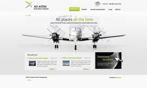 AirPlane Business site by goodghost1980