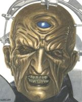 Davros by Marc137