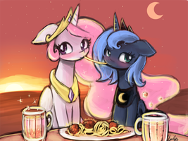 the princess dinner by luminaura