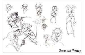 Peter and Wendy by kayjkay