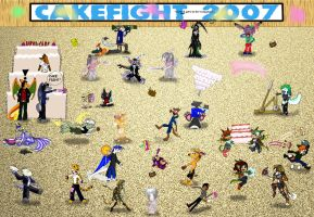 CakeFight 2007 by Dragon-Furry