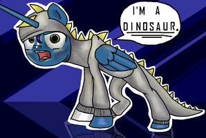 Dinosaur by SlideSwitched