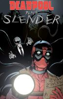 Deadpool plays Slender by Vulture34