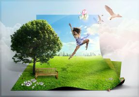 Dance of Spring by LG-Design
