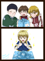 Happy Birthday Kurapika(Past)~ by HinagikuAzumi