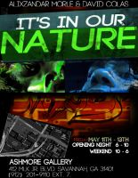 Its in our nature Poster (Two) by aMorle