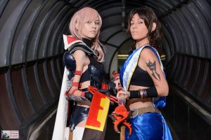 Lightning and Fang Cosplay by LadyDaniela89