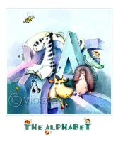 The alphabet 3 by vleta