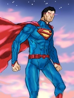 Superman by spriteman1000