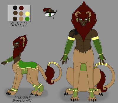Gahiji Ref by Monster51