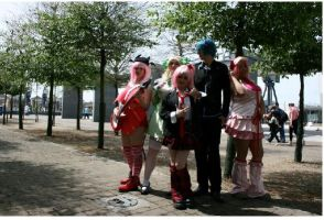Shugo Chara Group 2 at Expo by CrushedRAINBOWS