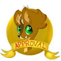 Deer Seal of Approval by ChuchipDraws