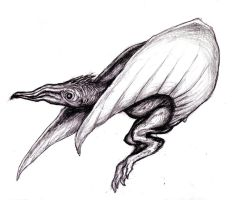 Pterosaur Monster/ Stephen King Mist Creature II by KingOvRats
