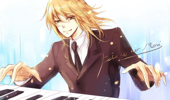 ::Piano no Mori:: KAI by zaphylla