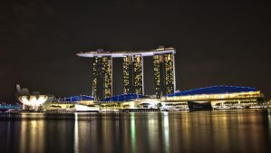 Marina Bay Sands Redux by DrakeXaos