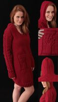 Little Red Riding Hood Dress by Death-By-Romance