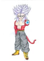 SSJ4 TRUNKS by Lala-Dello