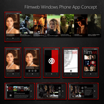 Filmweb Windows Phone App Concept by michalkosecki