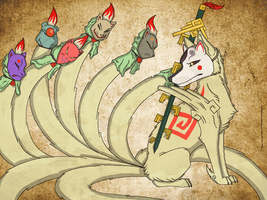 Lord Ninetails by Divine-Marshal