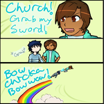 Church, Grab My Sword by CaptainTimber