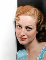 Joan Crawford - Colorized by NorthOne