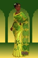 Tiana In India by AnneMarie1986