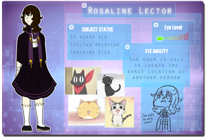 H-H: Rosaline Lector by Hierophant-Green
