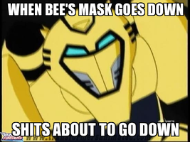 Bee's mask by Blurr19